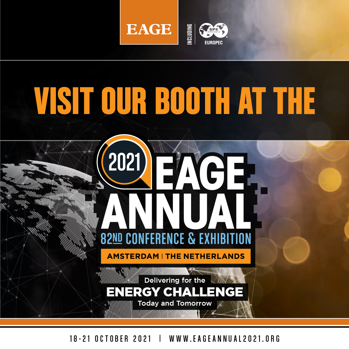 Visit our booth at the EAGE
